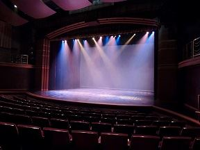 The main auditorium at The Village Theater