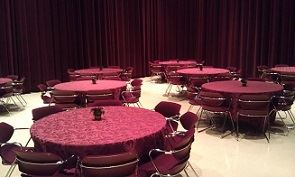Biltmore Studio Dinner Seating Setup