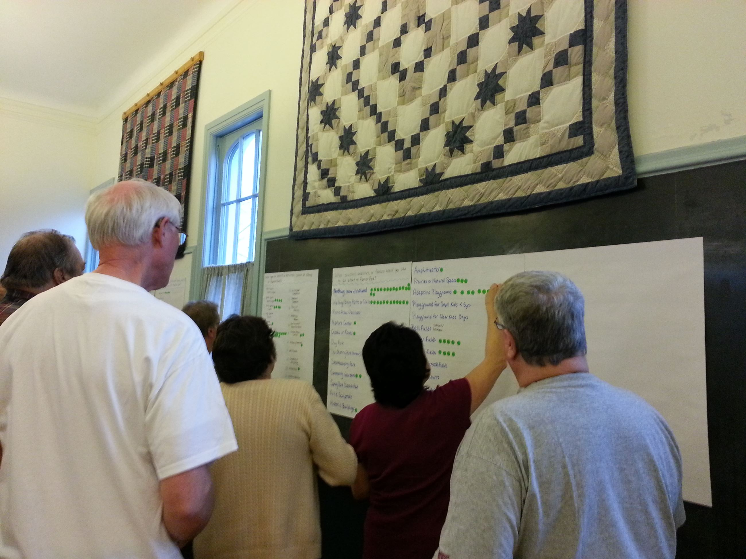 Community Input Sessions for Parks and Facilities